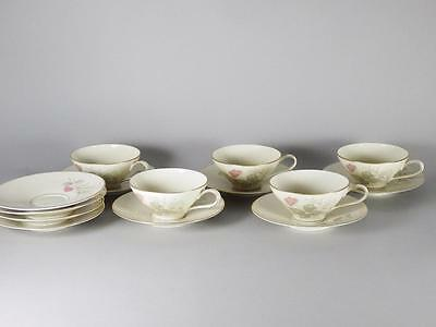 Rosenthal Continental China PARISIAN SPRING IVORY - 5 Cups -9 Saucers -Free Ship