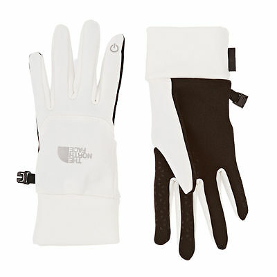 The North Face Women's White ETIP Touch Screen Gloves L