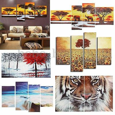 Abstract Unframed Canvas Print Painting Oil Picture Wall Mural Hanging Decor Art