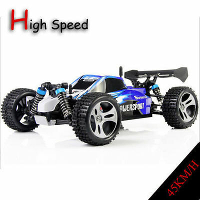 WLtoys A959 1/18 Scale 2.4G 4WD SUV RC Car Off-Road Buggy RTR Remote Control FR!