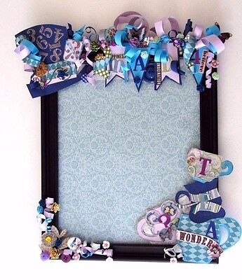 Alice In Wonderland Mad Hatter Tea Party Picture Photo Frame Home Decor