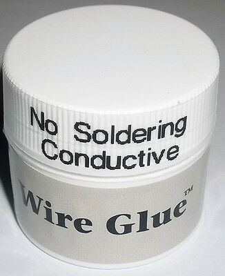 USA NO Silver Conductive Glue Wire Electrically Paste Adhesive Paint PCB Repair