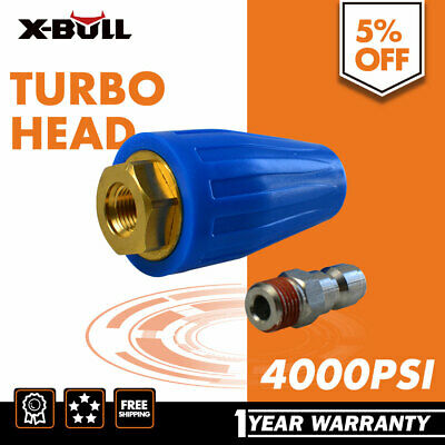 X-BULL Pressure Washer Turbo Head Nozzle for High Pressure Water Cleaner 4000PSI
