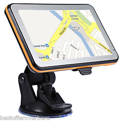 Hot 5 inch Vehicle GPS Navigation TFT LCD Touch Screen FM Radio Voice Guidance