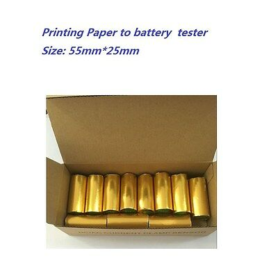 Printing paper to car battery tester BST-760 / MICRO-568