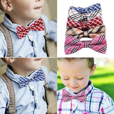 New Children Kids Boys Toddler Bowtie Pre Tied Wedding Party Bow Tie Necktie UT