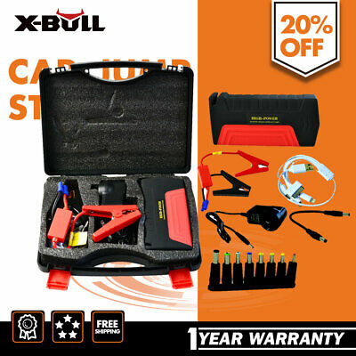 XBULL 50800mAh Car Jump Starter Emergency Charger Booster Power Bank Battery USB