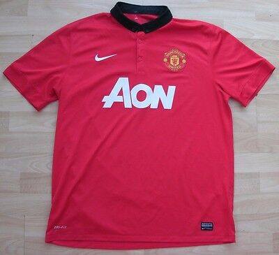 Manchester United 2013 Home Nike Football Soccer Shirt Jersey Top Xl Adult