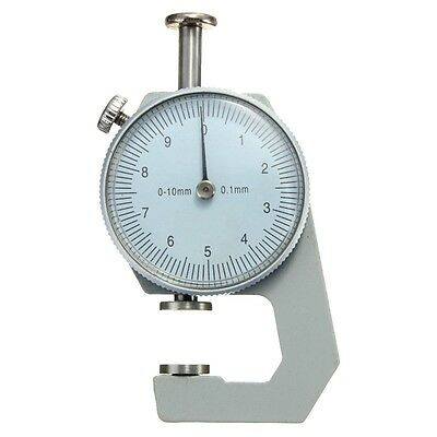 0-10mm Thickness Gauge Tester Leather Craft Leathercraft Tools Accuracy 0.1mm FK