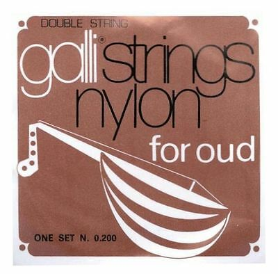 Galli Strings, Saiten, für Oud, Laute, Lute Set N. 0.200