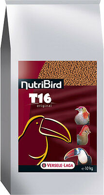 Aliments NutriBird T16 Versele Laga pour grands frugivores Sac 10 kg