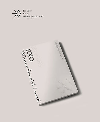 EXO - FOR LIFE 2016 Winter Special CD+Photocard+Postcard+Free Gift+Tracking no.