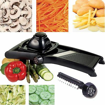 Professional Mandolin Slicer Food Vegetables Slicer Stainless Steel Blades New