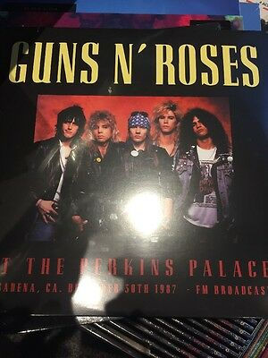 Guns N Roses 'at The Perkins Palace' 1987 - 2 X Lp Vinyl New + Sealed