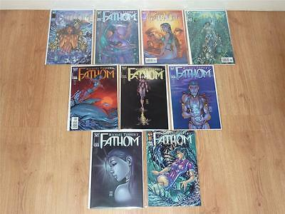 Fathom #1 to #8 Complete Run - Image/Top Cow 1998 - VFN to VFN/NM 8 Comics