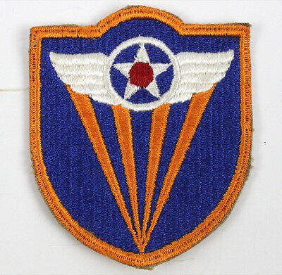 WWII US Army 4th Air Force Shoulder Patch