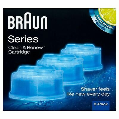 Braun Series Clean & Renew 3 Cartridge 1 2 3 6 Packs