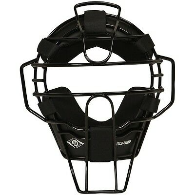 Diamond DFM-iX3 Umpire Mask - Brand New - Black or Pewter Frame