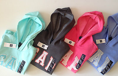 Genuine GAP Logo Girl's Hoodie/Sweatshirt/Top 4-13 years - PINK,GREY,BLUE-NEW