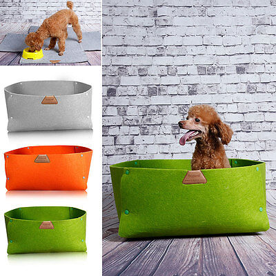 Portable Folding Pet Dog Cat kennel Bed Mat Dual-use Puppy Travel House Cushion