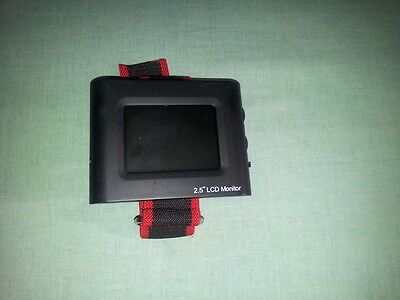 MONITOR A COLORI DA POLSO CON DISPLAY LCD DA 2,5'' - TESTER CCTV e VIDEO GOPRO