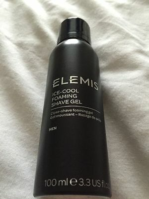Elemis For Men Ice-Cool Foaming  Shave Gel 100ml - BN -  ** Quick Dispatch **
