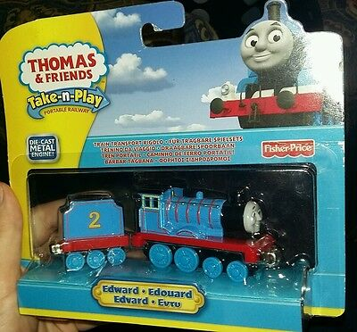 Thomas and Friends Die Cast Metal train EDWARD engine take n play NEW