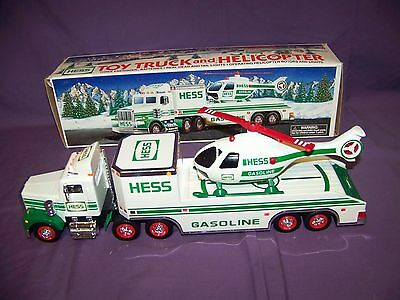 1995 Hess Holiday Truck With Original Box Excellent Used Condition Tested Works