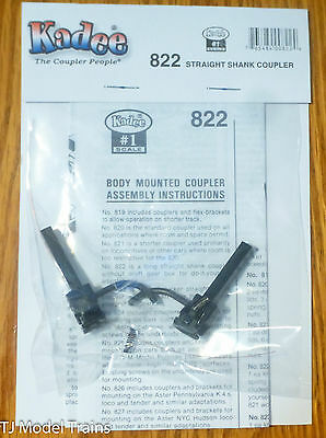 Kadee #822 (#1 Scale) Straight Shank Couplers