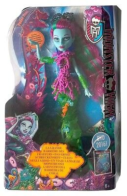 Mattel DHB48 Monster High Schreckensriff/Monsterfisch Posea Reef