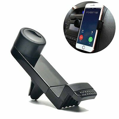 Universal Car Air Vent Mount Cell Phone Holder Fr iPhone 5S 6 Plus Galaxy S5 GPS