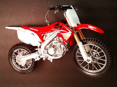 Honda CRF450R Christmas Tree Ornament Red Dirt Bike Motorcycle