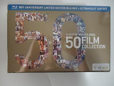 Best of Warner Bros.: 50 Film Collection (Blu-ray Disc, 2013, 52-Disc) NEW
