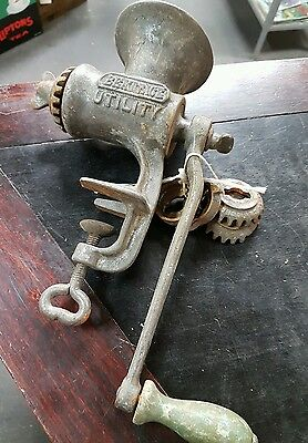 Vintage Beatrice Utility  Mincer And Attachments  English