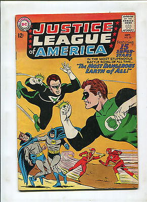 Justice League Of America #30 (6.5) Jsa X-Over
