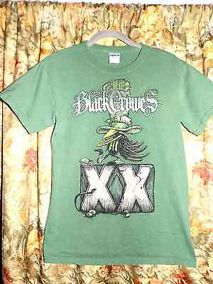 The Black Crowes Say Goodnight to the Badguys 2010 Tour T Shirt Size Small