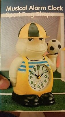 Musical Alarm Sports Frog Shape.for Kids.new And Old Stock.
