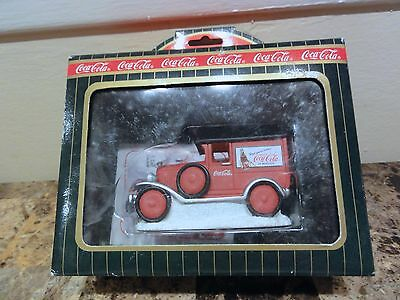 Coca Cola Town Square Holiday Village - Enjoy - Never Used With Box