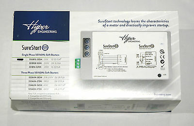 Hyper Engineering SS0B12-20SN Sure Start Soft Starter 115V Single Phase 12-20FLA