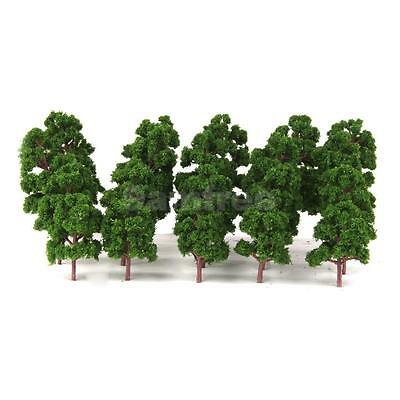 20pcs Mixed Model Trees HO N Z Scale Train Railway Forest Scenery Layout