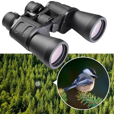 180x100 Zoom Day Vision Outdoor Travel Binoculars Hunting Telescope+Case