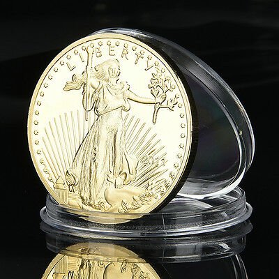 40MM 2011 American The Statue of Liberty Commemorative Physicalb Art Coin Gifts
