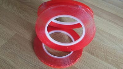Very High Bond-Vhb-Super Strong-Filmic Liner-Double Sided-Red Mega Super Strong