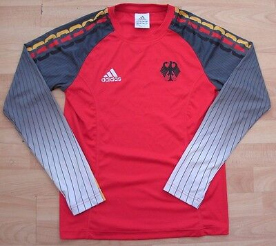 TEAM GERMANY OLYMPICS adidas FOOTBALL SOCCER SHIRT JERSEY LADIES UK SIZE 14