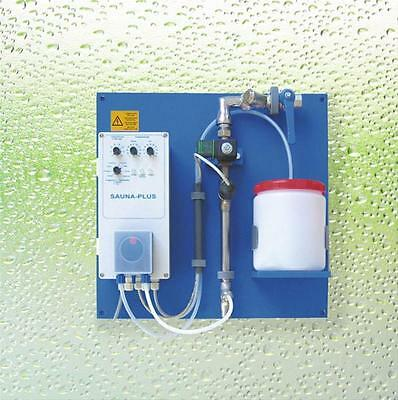 Sauna Infusion automatic including Steam spray pipe