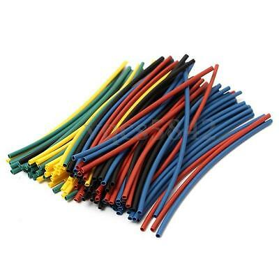 New 410Pcs 5 Colors 10 Sizes Assorted Heat Shrink Tube Tubing Wrap Sleeve Set