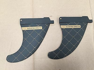 Flying Objects Twin fins  165  US Box  (pair)  INC Plates & Bolts