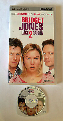 Bridget Jones L'age 2 Raison Hugh Grant Umd Video Sony Psp Disque Comme Neuf
