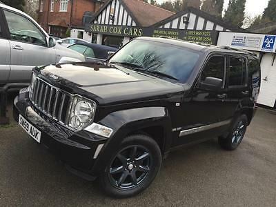 2009 Jeep Cherokee 2.8 TD Limited Station Wagon Auto 4x4 5dr