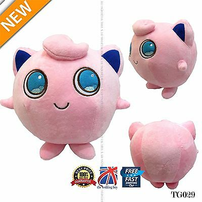 "13"" Anime Pokemon Pocket Monster Jigglypuff Stuffed Doll Cosplay Plush Toy TG029"